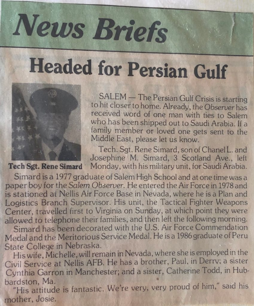 News Clipping Persian Gulf