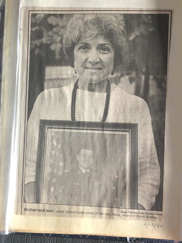 Mother Hold Framed Picture