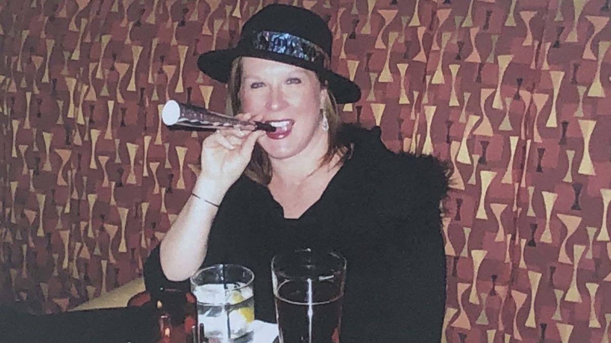 Diane Celebrating