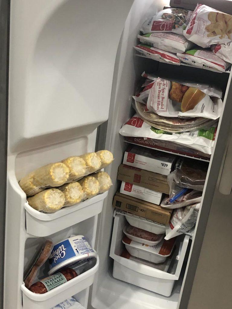 Freezer During Pandemic