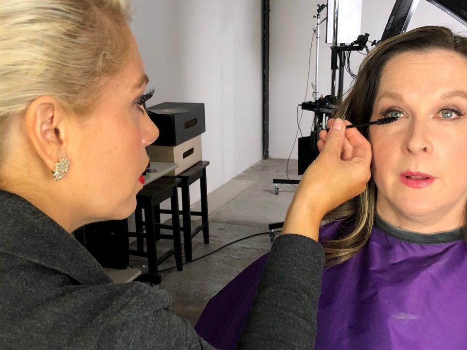 Diane - makeup