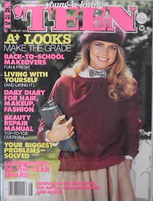 Teen magazine cover